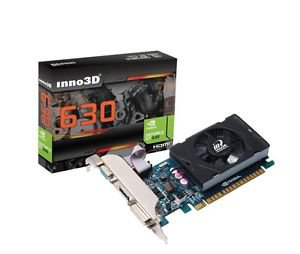 INNO3D NVIDIA Geforce GT 630 4GB PCI Express x16 Video Graphics Card HMDI