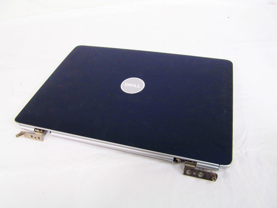 NEW Dell Inspiron 1525 1526 LCD Back Cover Top Lid w Hinges Assembly BLUE TY051