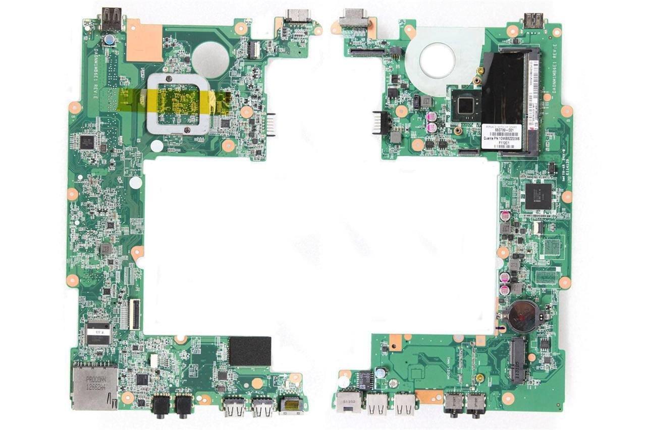 New OEM HP Mini 210 Intel N570 Laptop Motherboard DA0NM1MB6E1 31NM1MB0040 650739-001