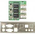 3 x Gigabit LAN Module Mini-ITX Motherboard AD3RTLANG