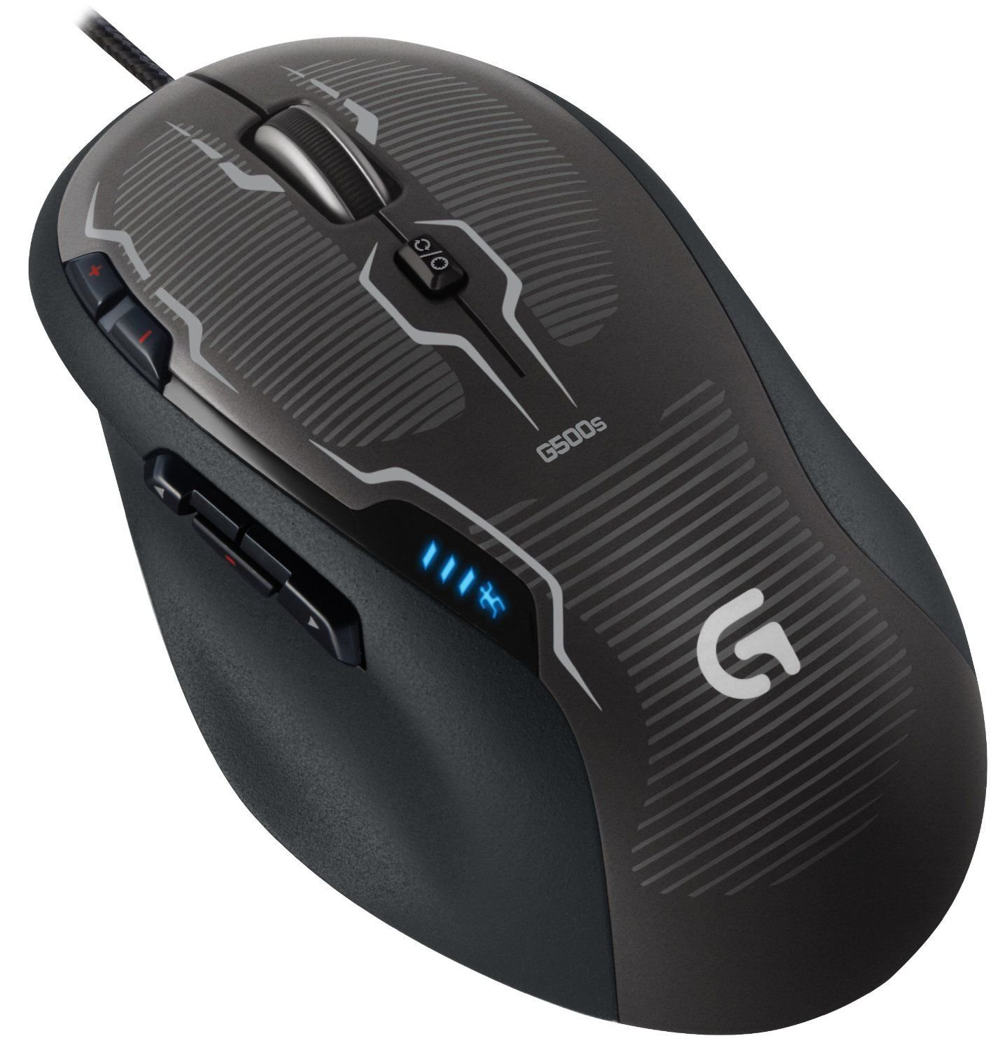 Logitech Wired Gaming Mouse G500S, Laser 8200DPI P/N 910-003602