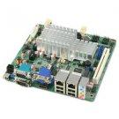 Jetway NC9NDL-2550 Dual LAN & 6x COM Ports Atom D2550 Mini-ITX MB w/ DC-DC Power