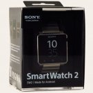 New OEM SONY SW2 SmartWatch 2 NFC Bluetooth Android Watch SILVER Metal Strap SplashProof