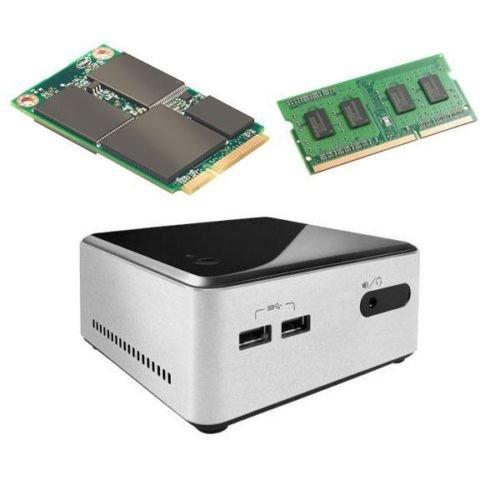 """Intel D34010WYKH NUC w/ Intel Core i3-4010U, 4GB & 64GB SSD, 2.5"""", BOXD34010WYKH"""