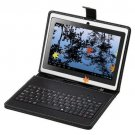 """7"""" Capacitive White Tablet PC Android 4.0 A13 1.2GHz 4GB WiFi Bundle Keyboard"""