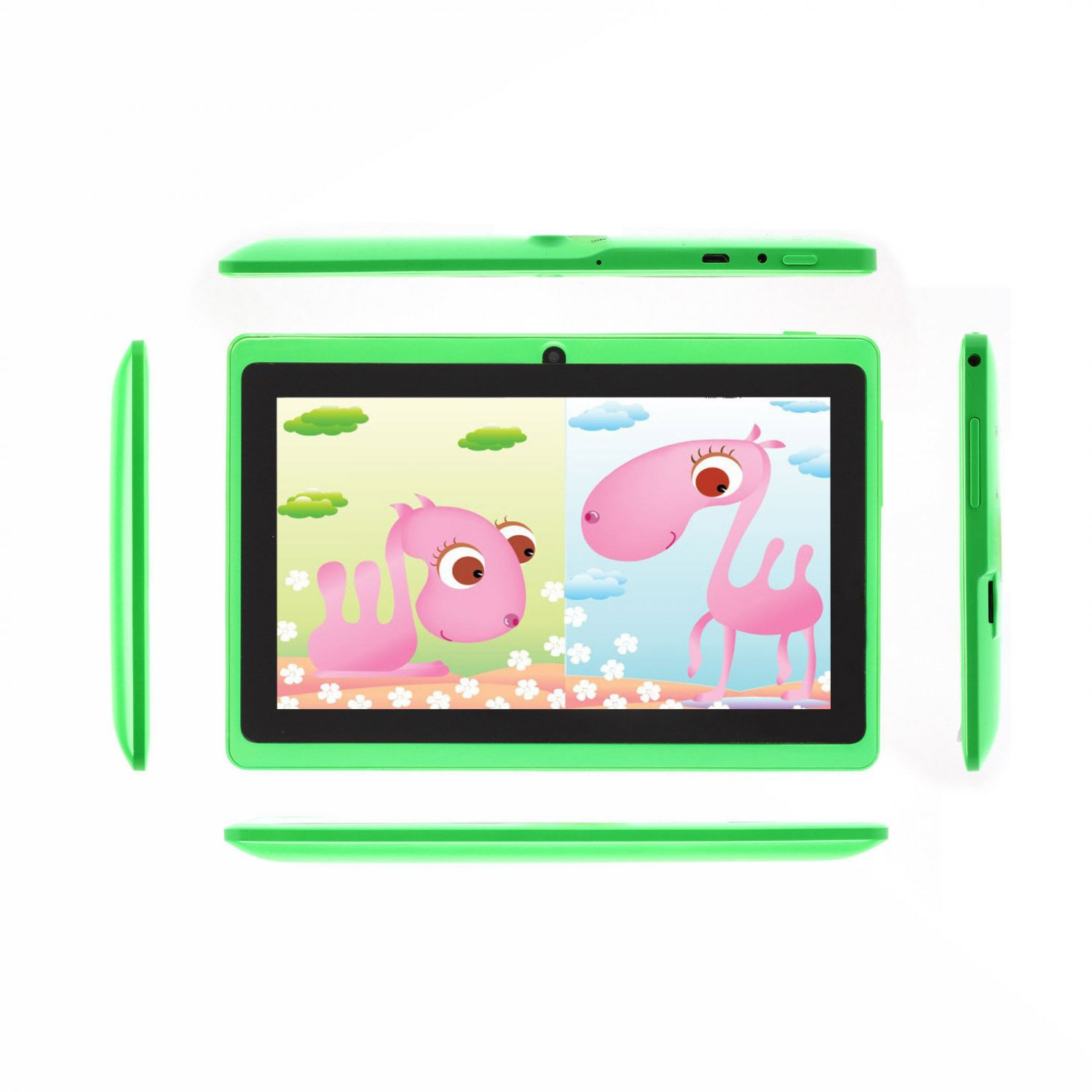 """iRulu 7"""" Tablet PC Android 4.2 Dual Core A23 1.5GHz Dual Camera - Green"""