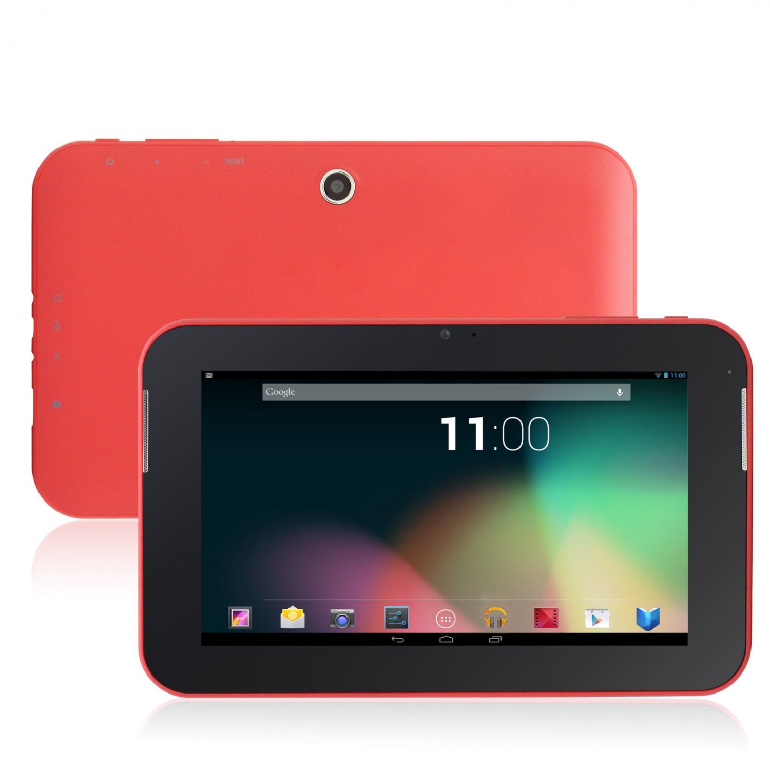 Dual Core Google Android 4.2 Tablet PC - Red (Android 4.2)