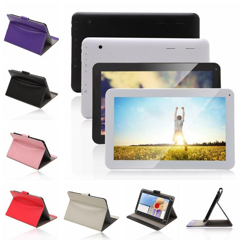 "iRulu 10.1"" Android 4.2 Tablet PC Dual Core Cam Cortex A9 8GB HDMI WIFI w/Case"