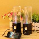 Plug and Play Muti-colored Illuminated Dancing Water Speakers