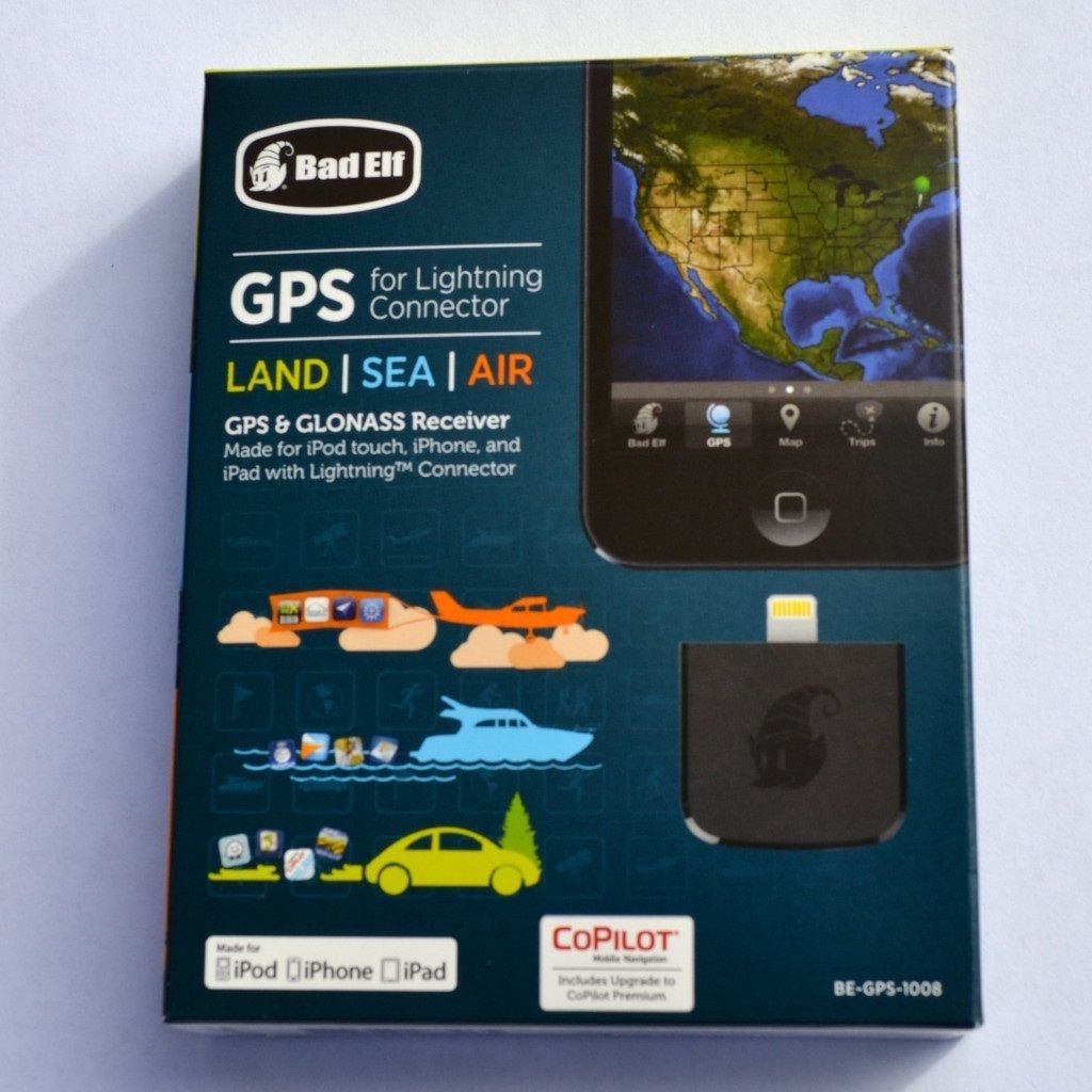 Brand New Bad Elf High Performance GPS & GLONASS Receiver with Lightning Connector