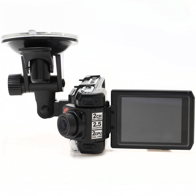 """Full HD Car DVR Dash Camera Dual Camera GPS OV9712+MI1031 America-A5X 2.5"""" HDMI"""