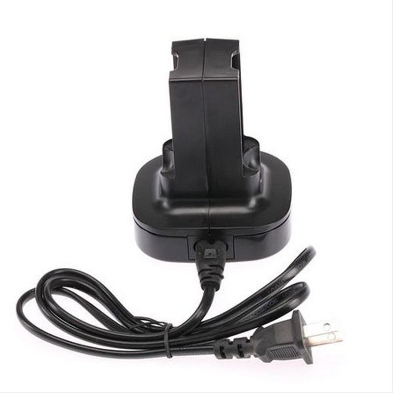 Heat Dual Rechargeable Battery Charger Station For Microsoft Xbox 360