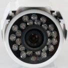 """GW 650TVL 1/3"""" CMOS Bullet Outdoor Security Camera 3.6mm 24 IR LED"""