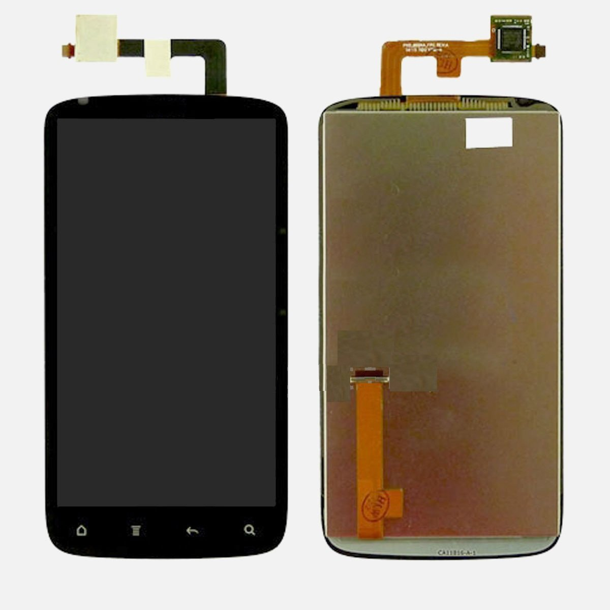 HTC Sensation 4G LCD Screen Display + Digitizer Touch Outer Glass Lens Assembly