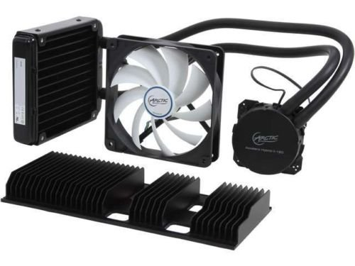 ARCTIC Accelero Hybrid II-120, Liquid/Air Combo Extreme Cooling for Hi-Performance