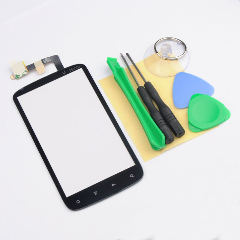 New Touch Screen Digitizer Panel Glass for HTC Sensation 4G T-Mobile G14 Black