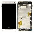White HTC One M7 LCD Display Touch Screen Digitizer Assembly Replacement Part