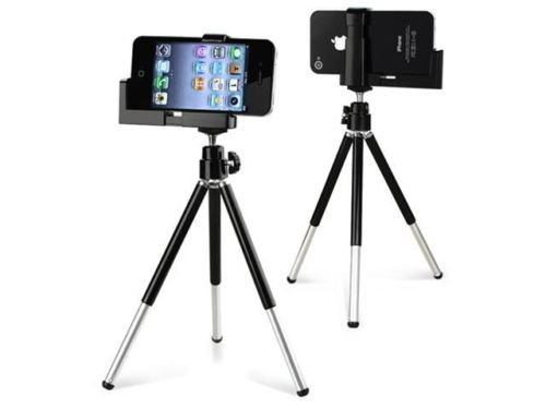 Mini TriPod Stand with Holder compatible with ALL iPhone 3G 4 4G