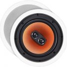 OSD Audio ICE840TT High Definition Pro Series 8-Inch In-Ceiling Stereo Speaker S