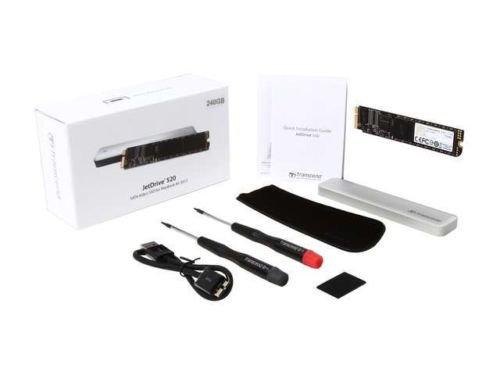 Transcend JetDrive 520 TS240GJDM520 240GB USB 3.0 / SATA 6Gb/s MLC Internal / Ex