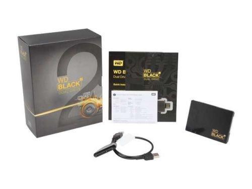 """Western Digital Black 2 Dual Drive WD1001X06XDTL 2.5"""" 120GB SSD+1TB HDD SATA III"""