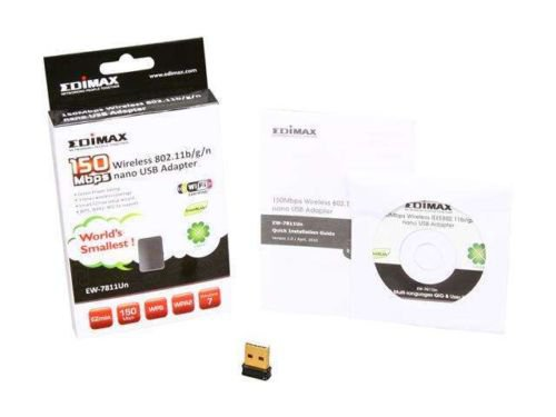 EDIMAX EW-7811Un N150 USB 2.0 Wireless nano Adapter