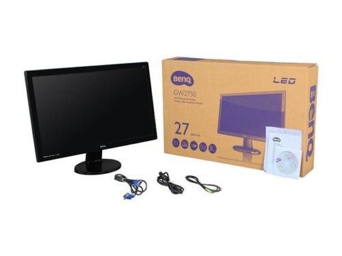 "BenQ GW2750HM Glossy Black 27"" 4ms (GTG) HDMI Widescreen LED Backlight LCD Monit"