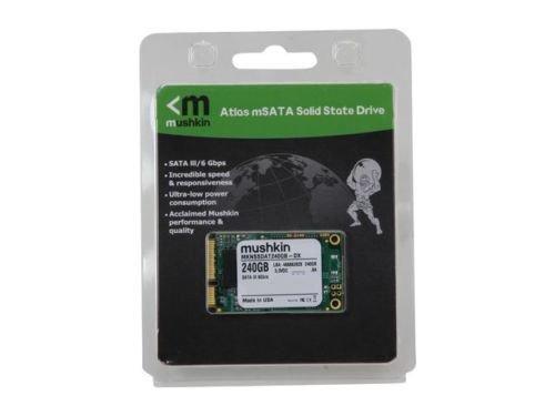 Mushkin Enhanced Atlas Series MKNSSDAT240GB-DX 240GB Mini-SATA (mSATA) MLC Inter