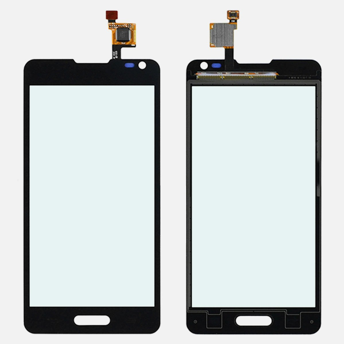 New Black LG Optimus F6 D500 D505 Digitizer Touch Screen Front Outer Glass Panel