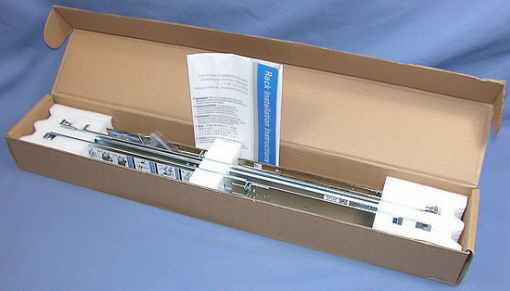 NEW Dell C597M R210 R310 R410 R415 2/4 Post 1U Static Rackmount Rack Rails Kit