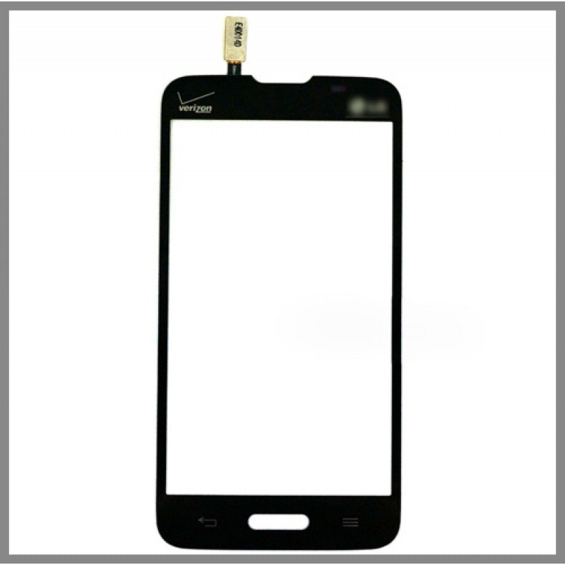 New Verizon LG Lucid 3 VS876 Digitizer Touch Screen Front Outer Glass Panel