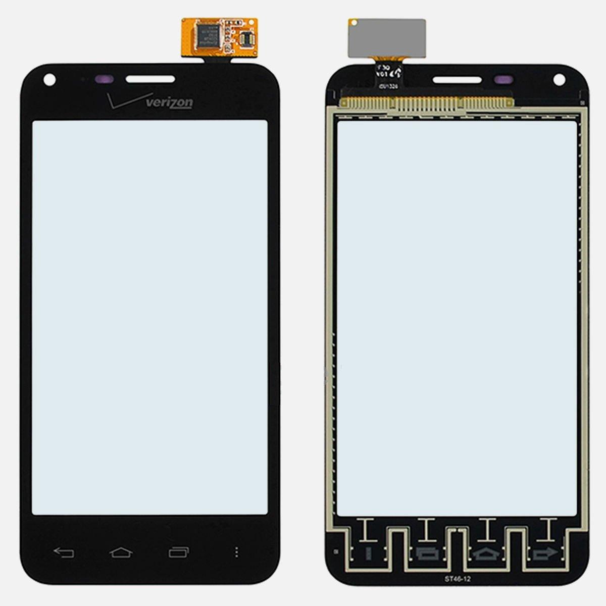 New OEM Verizon LG Enact VS890 Digitizer Touch Screen Panel Glass Lens Part