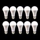10x E26 110V Energy Saving Bright Light LED Bulb Lamp For Home Use