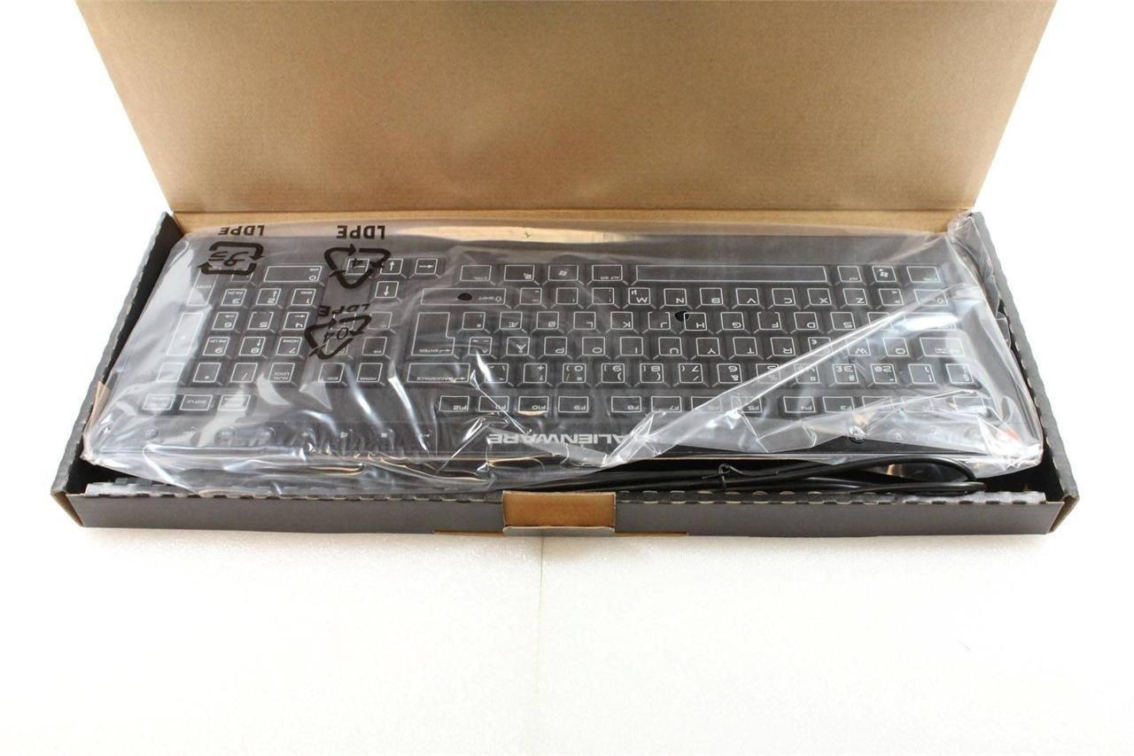 Dell Alienware Norway Multimedia Slim Black Wired USB Keyboard SK-8165 -3X3K9