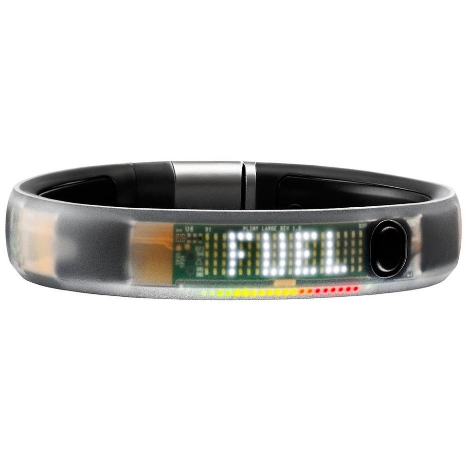 Nike+ Fuel-Band Bluetooth, Water-Resistant Activity Tracker With 3 Axis Accelerometer - Black ICE!