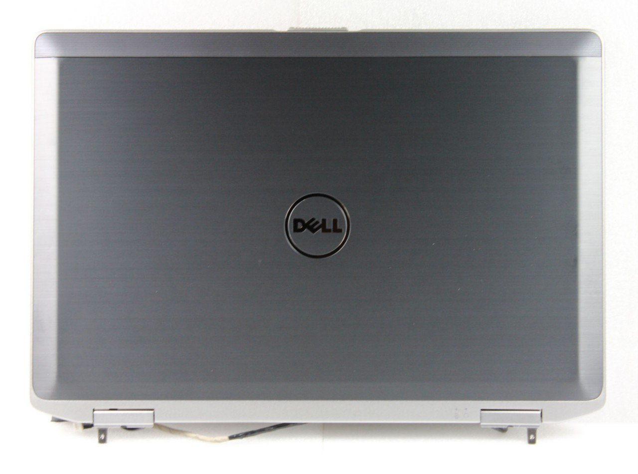New Original Dell Latitude E6420 Black HD LCD Back Cover with Hinges - MJDVY