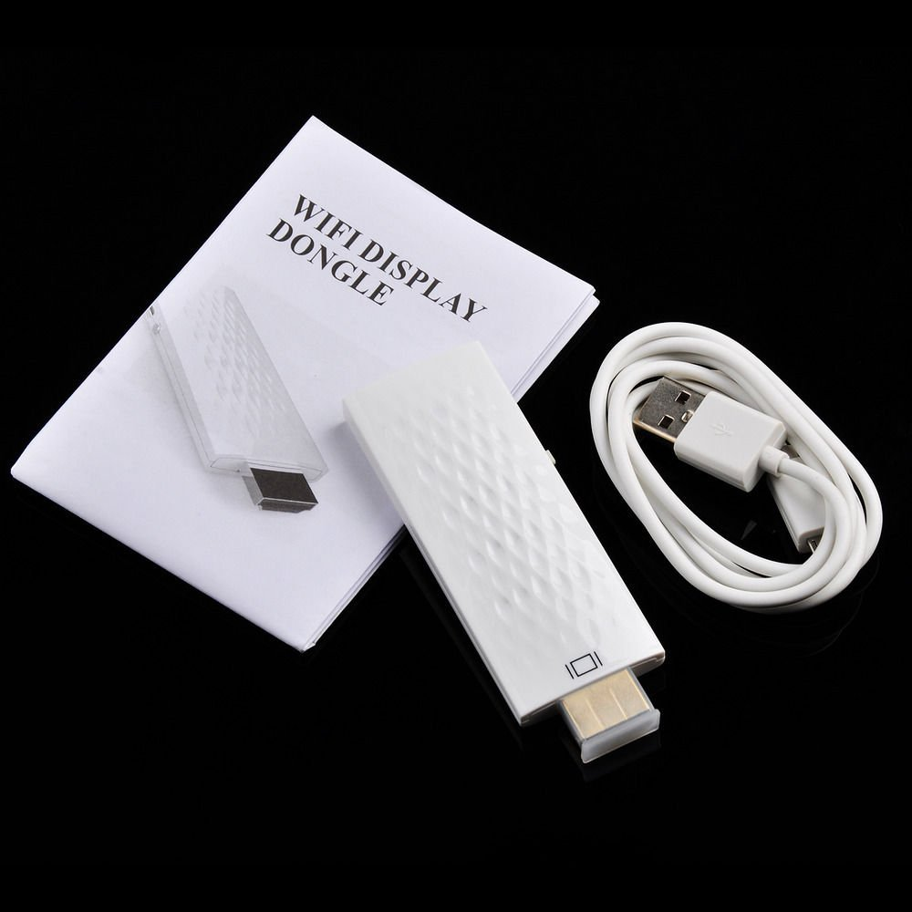 Wireless Wifi Hdmi Display Dongle Adapter Mirror Function