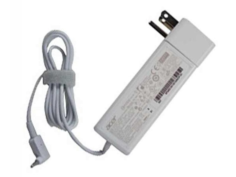 New Acer Aspire S7 S7-392 White Ac Power Adapter Charger w/ Plug 45W