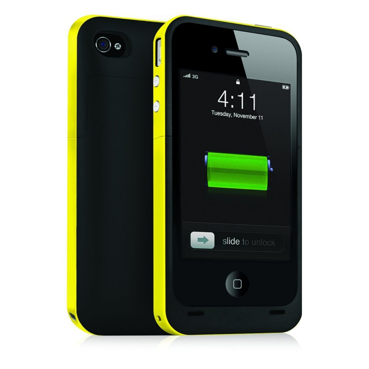 Ultra Slim 2500mAh Power Bank BackUp External Battery Cover Case For iPhone 5 5S