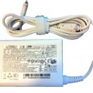 New Genuine Acer Aspire P3-131 P3-171 Ultrabook White Ac Adapter Charger 65W