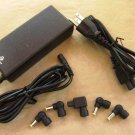 Targus Universal Ac Power Notebook 90w Adapter Pa-1900-04 Apa03us With Ac Cord