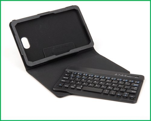Wireless Detachable Bluetooth Keyboard PU Case Cover for Dell Venue 8/Pro Tablet