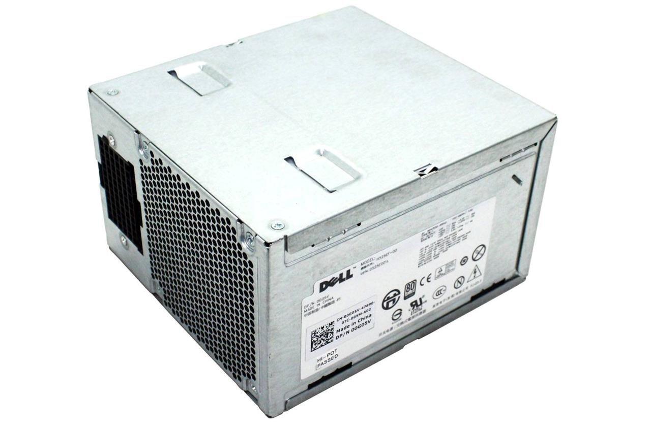 DELL PRECISION T3500 525W POWER SUPPLY M821J 6W6M1 0G05V U597G w/ HARNESS