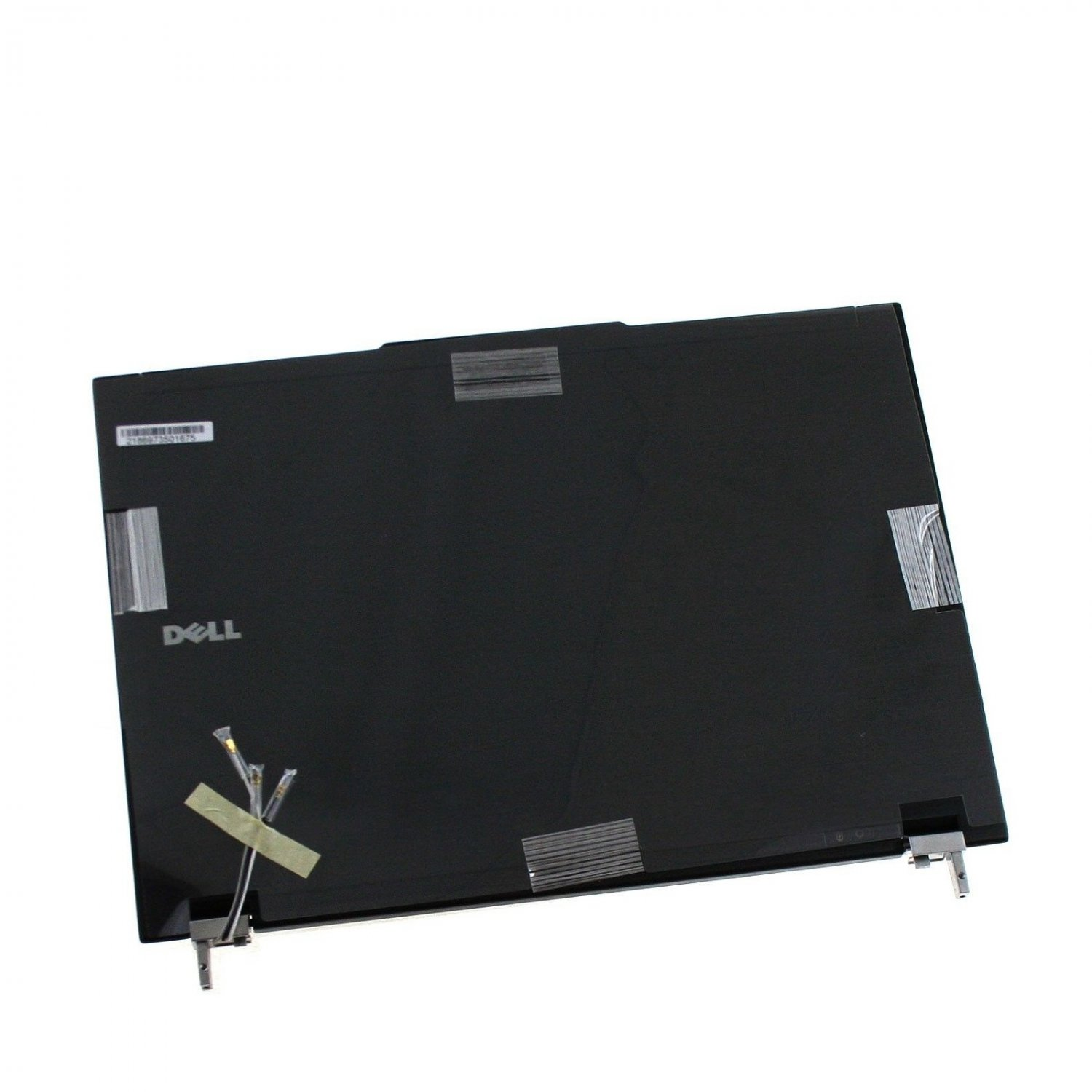 """OEM NEW Dell Latitude E4300 13.3"""" BLACK LCD Back Cover Top Lid w Hinges T125G"""