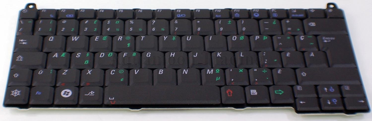 New OEM Dell Vostro 1310 1520 Keyboard French Canadian C412K