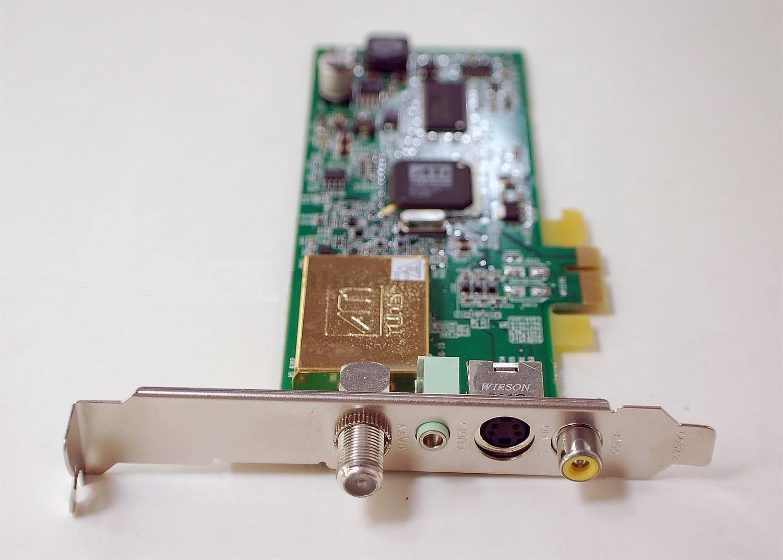 NEW Dell ATI Wonder Elite TV Tuner PCI-e Card CATV Audio S Video Composite FF190