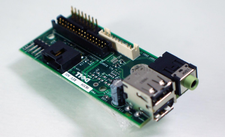 Refurbished Dell Optiplex GX260 GX270 SFF Front IO Audio USB Panel Board 9K939