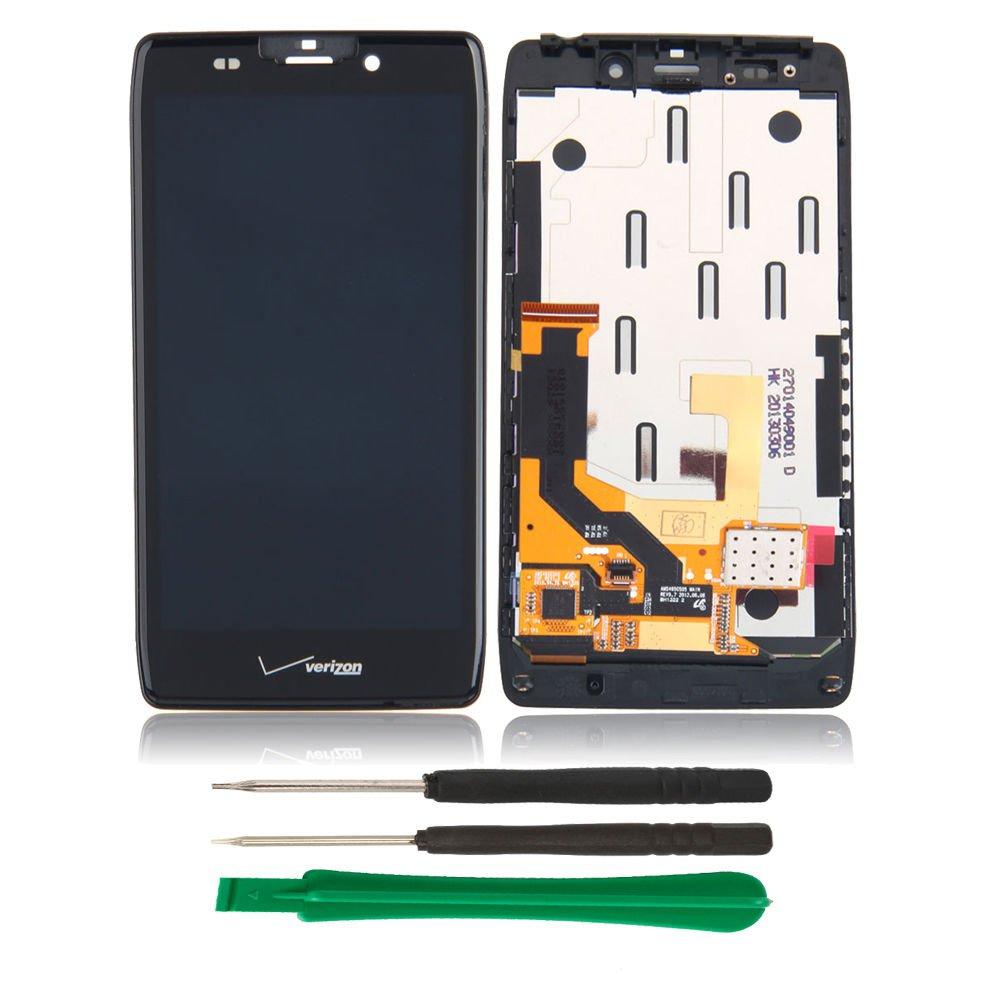 OEM Brand New Motorola Droid Razr HD XT925 XT926, Maxx HD XT926M LCD Screen Digitizer + Frame