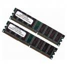 New OEM Dell Inspiron 500M 8500 1GB DDR SDRAM DIMM Laptop Memory Ram PC2700