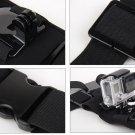 Adjustable Elastic Single Shoulder Belt Strap Chest Mount for GoPro Hero 4 3+ 2